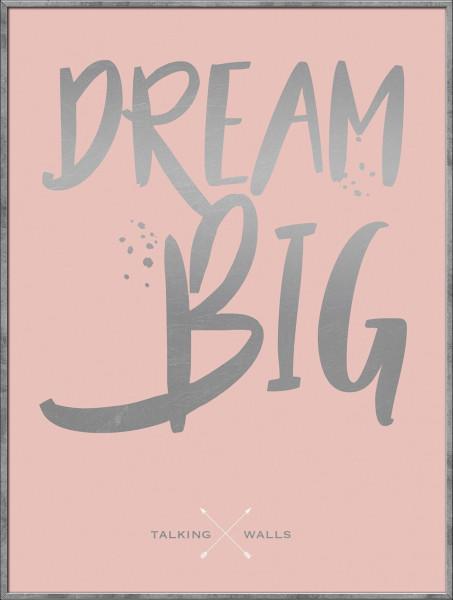 Bild gerahmt Dream Big