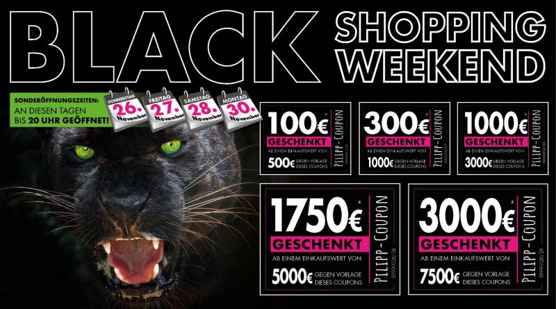 Black Shopping Weekend