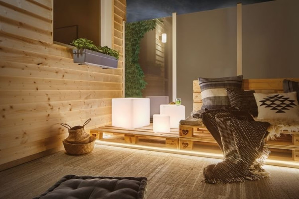 LED-Lichtobjekt Outdoor Cube