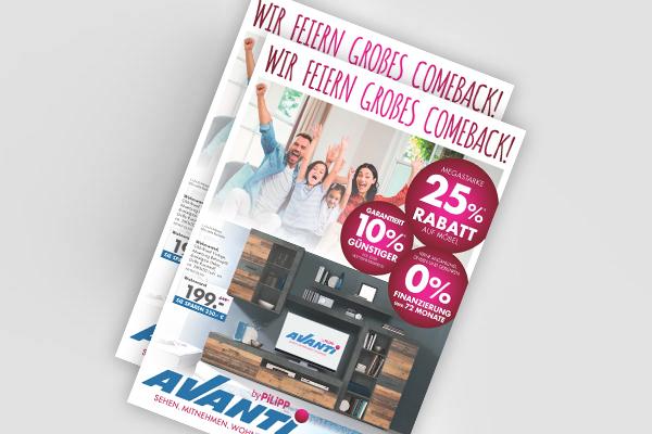 Avanti-Prospekt - Wir feiern großes Comeback!