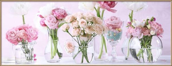 Bild gerahmt Flowers II