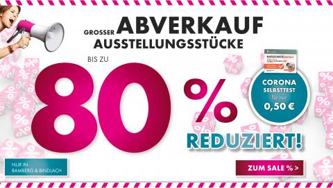 Großer Abverkauf in Bamberg und Bindlach