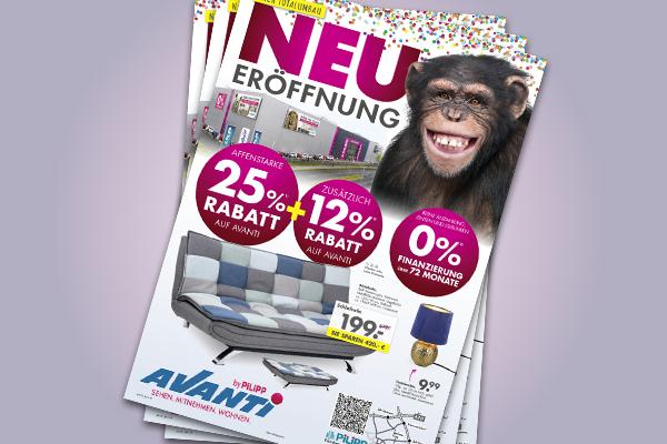 Affenstarke Angebote bei Avanti nach NEUeröffnung bei Möbel Pilipp in Bamberg