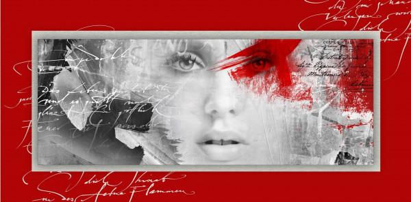Alu-Bild Red Passion I