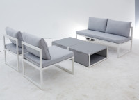 Garten-Sofa 5tlg. Leroy