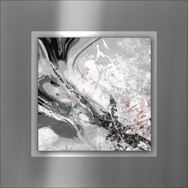 Alu-Bild Black & White Mix