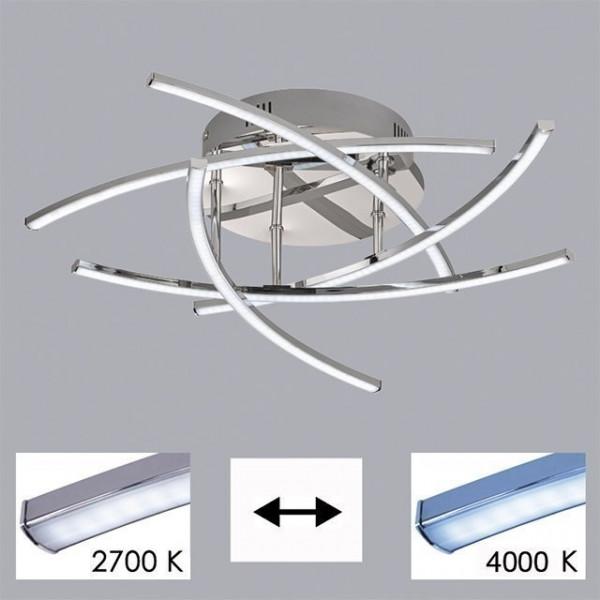 LED-Deckenleuchte Cross TW