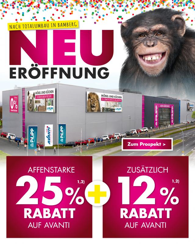 Neueröffnung bei Avanti in Bamberg - Affenstarke angebote sofort zum mitnehmen!