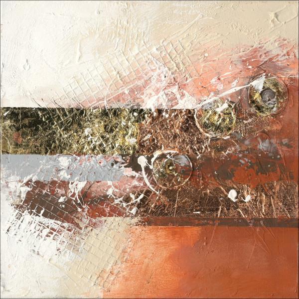 Original-Bild Abstract Orange & Brown II