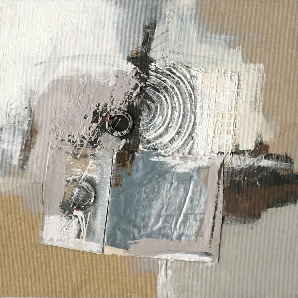 Original-Bild Abstract Grey & Brown II