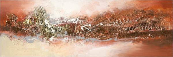 Original-Bild Abstract Orange & Brown IV