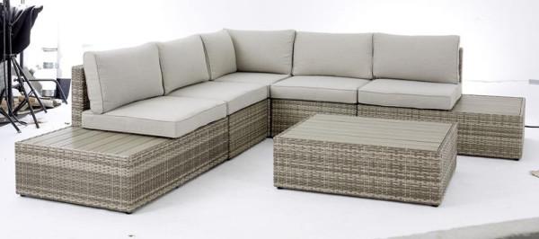 Lounge-Set 6tlg. Branko