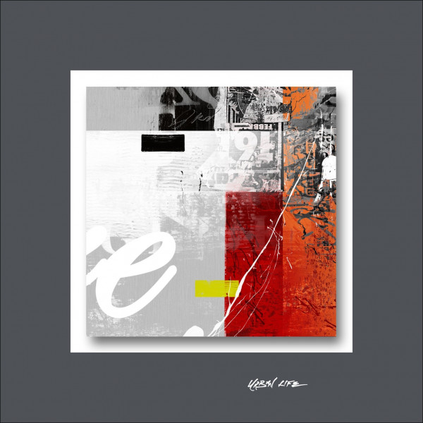 Alu-Bild Mix On Stone III
