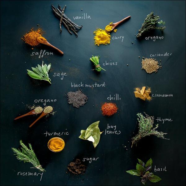 Glas-Bild Herbage Mix