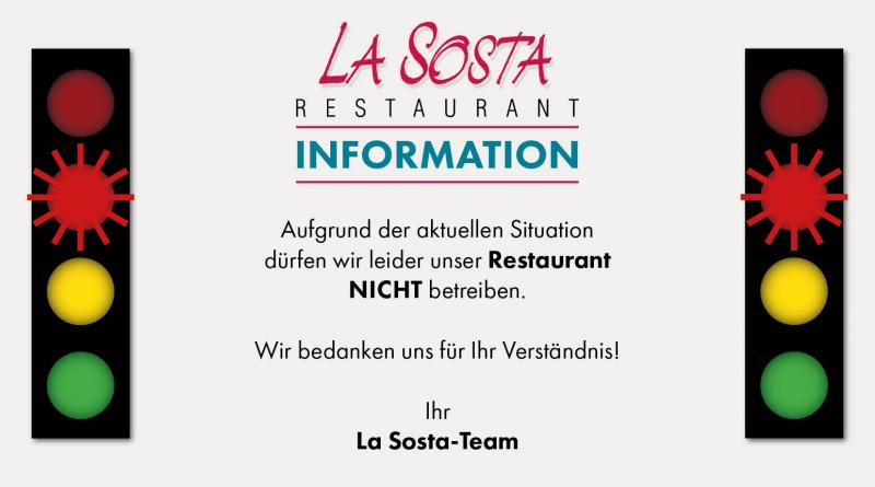 Restaurant bleibt geschlossen