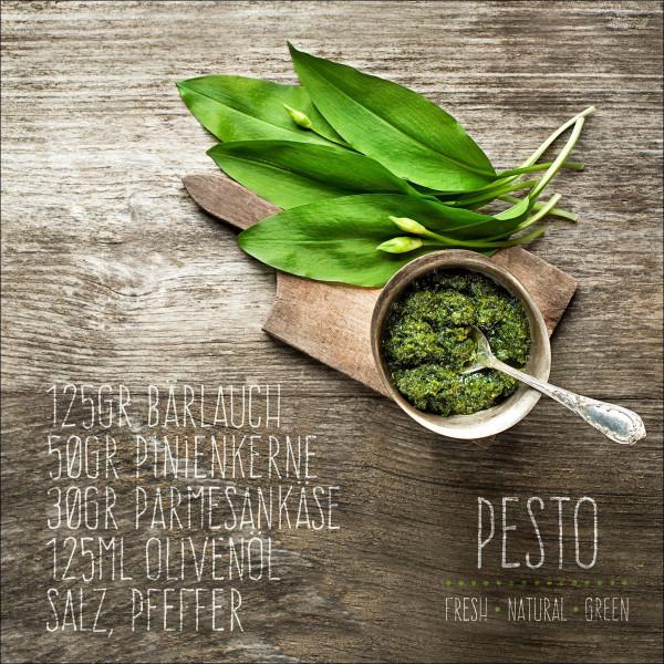 Glas-Bild Pesto