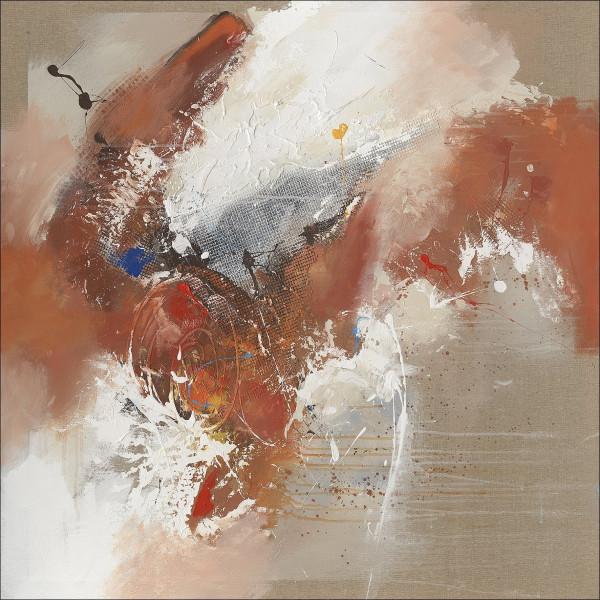 Original-Bild Abstract Orange & Brown III
