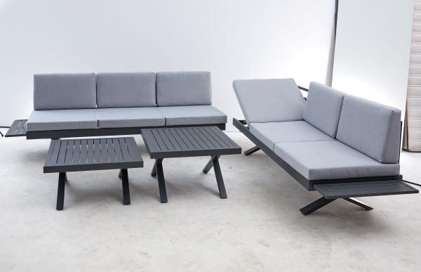 Gartensofa 3-Sitzer Rena