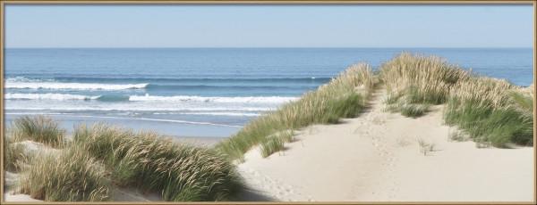 Bild gerahmt Beach