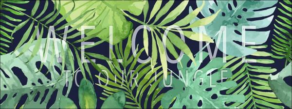 Canvas-Bild Botanik-Style