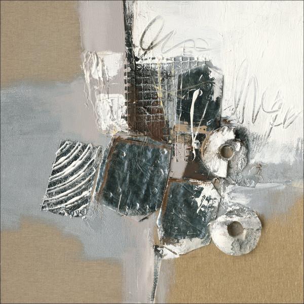 Original-Bild Abstract Grey & Brown I