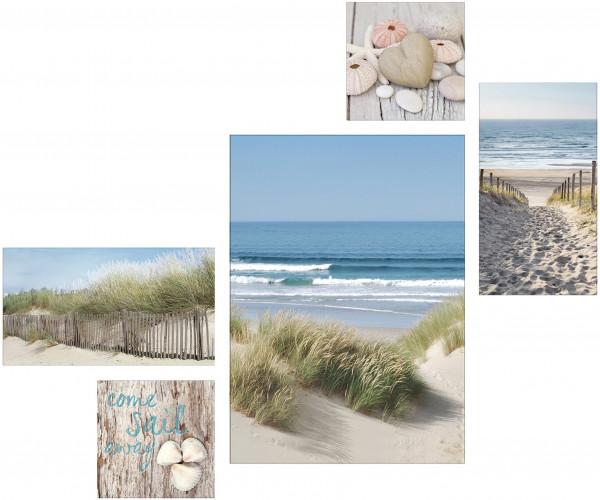 Canvas-Bild Beach Mix