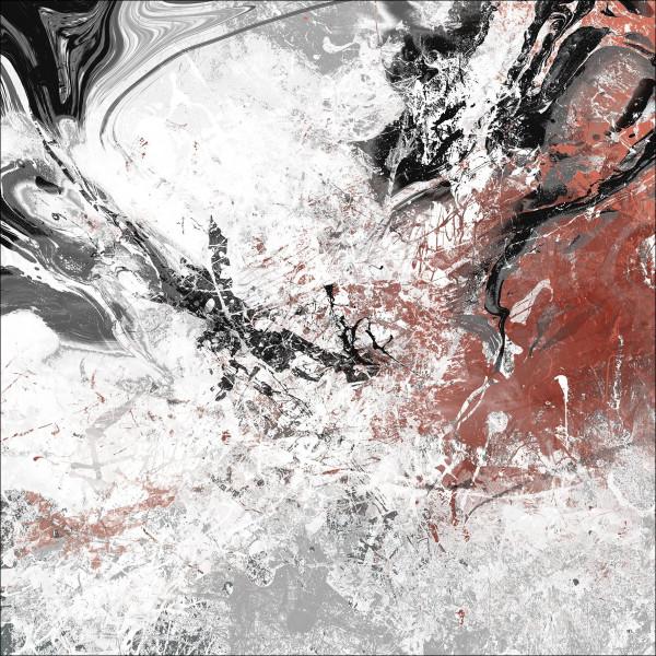 Alu-Bild Abstract Colourmix