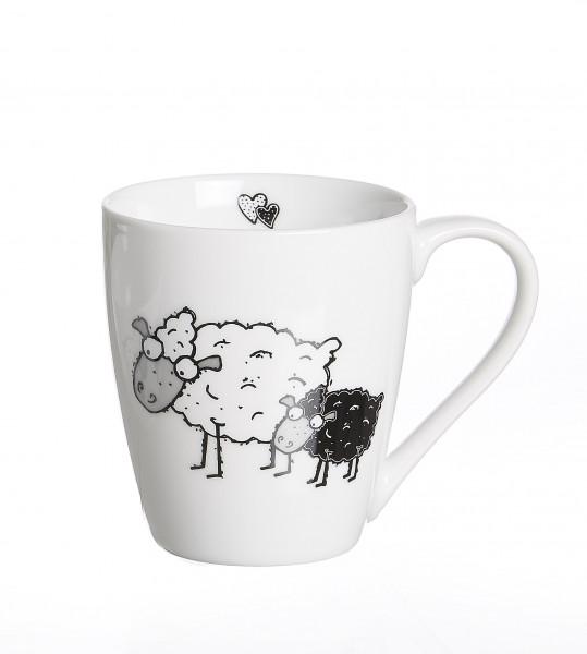 Kaffeebecher Schaf Cosy