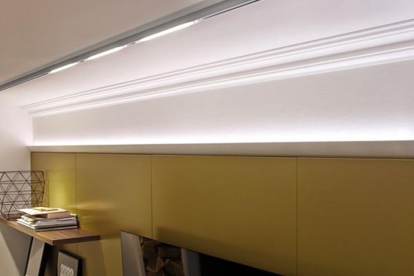 U-Rail-LED-Spot Inline Ninety