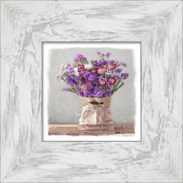 Bild gerahmt Purple Flowers