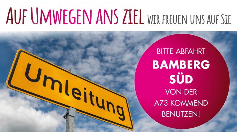 Bamberg Umleitung
