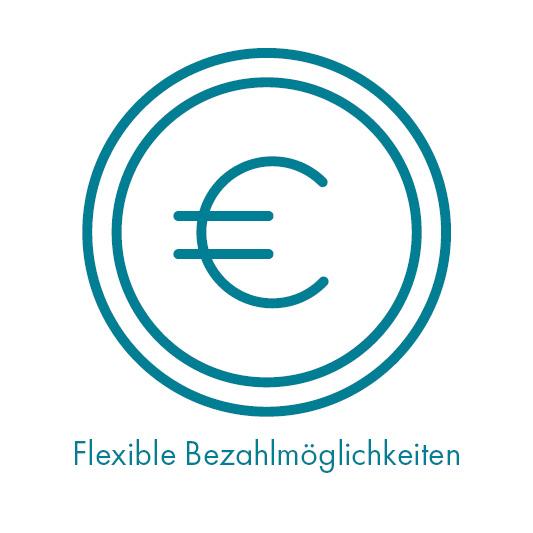 Flexible Bezahlmöglichkeiten