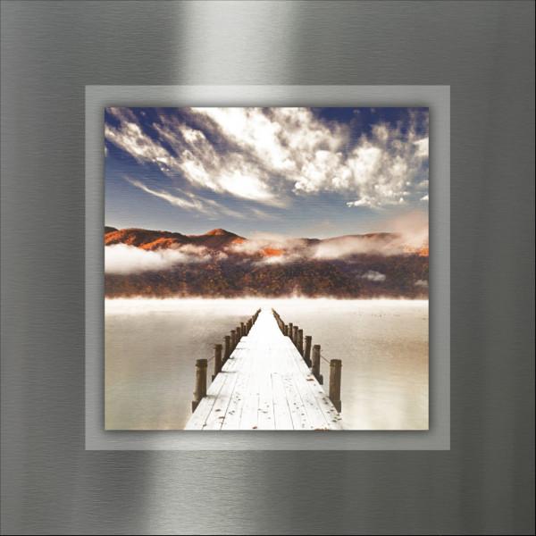 Alu-Bild Way To Sundown II