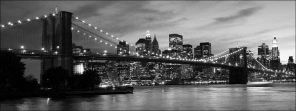 Canvas-Bild City Screen