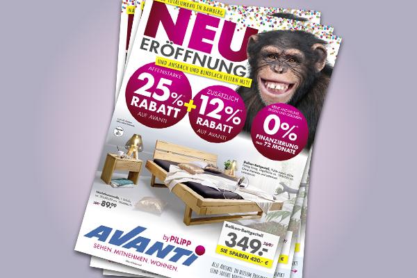 Affenstarke Angebote nach NEUeröffnung in Bamberg - jetzt bei Avanti in Ansbach und Bindlach