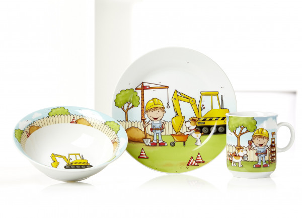 Kinder-Set Bauarbeiter
