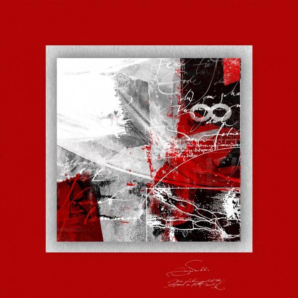 Alu-Bild Red Passion II