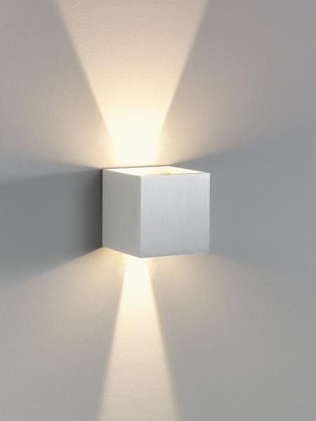 LED-Außenwandleuchte Cubi