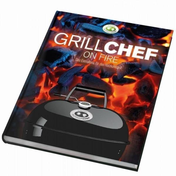 Kochbuch Grillchef on fire