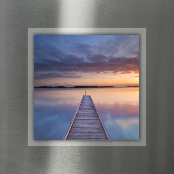 Alu-Bild Way To Sundown I